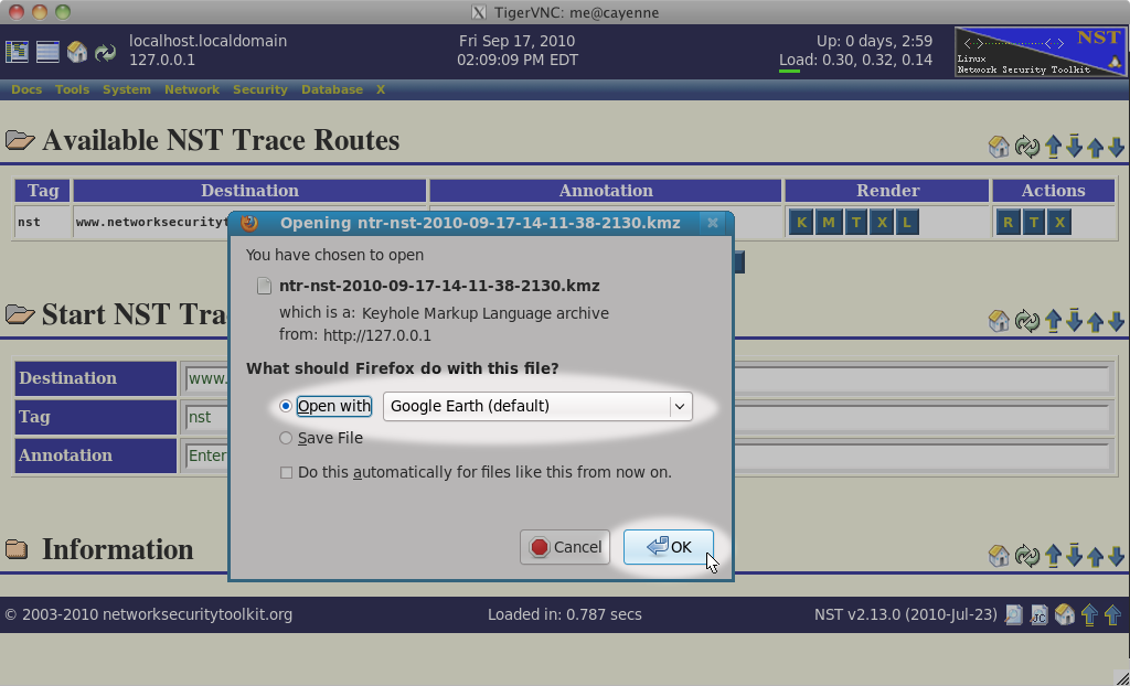 HowTo Geolocate traceroute Data - NST Wiki