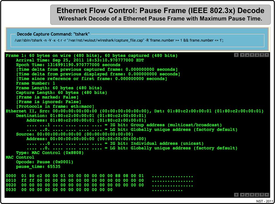Lan Ethernet Maximum Rates Generation Capturing Monitoring Nst
